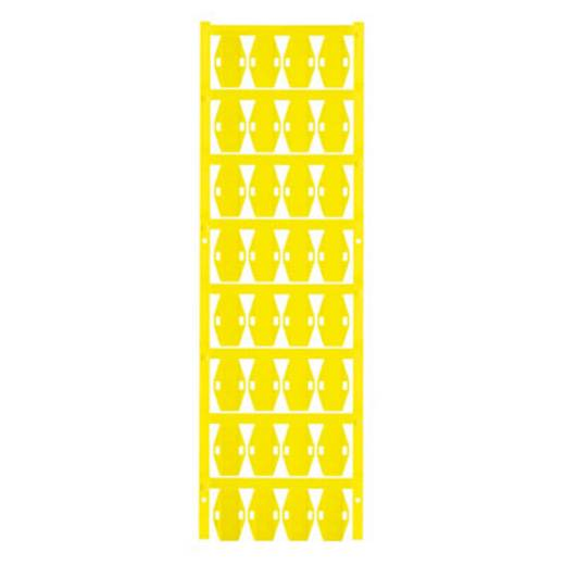 Leitermarkierer Montage-Art: Kabelbinder Beschriftungsfläche: 24 x 15 mm Passend für Serie Einzeldrähte Gelb Weidmüller