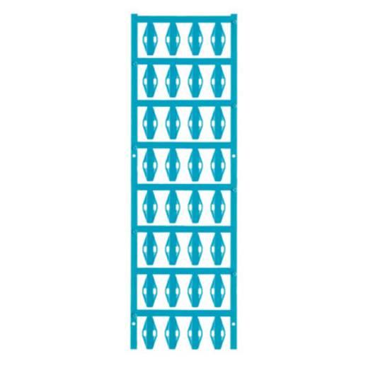 Leitermarkierer Montage-Art: Kabelbinder Beschriftungsfläche: 23 x 10 mm Passend für Serie Einzeldrähte Atoll-Blau Weidm