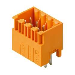 Konektor do DPS Weidmüller S2L 3.50/08/180G 3.5SN OR BX 1728800000, 17.7 mm, pólů 8, rozteč 3.50 mm, 120 ks
