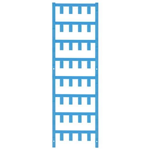 Leitermarkierer Montage-Art: aufclipsen Beschriftungsfläche: 21 x 8.4 mm Atoll-Blau Weidmüller VT SF 6/21 NEUTRAL BL V0