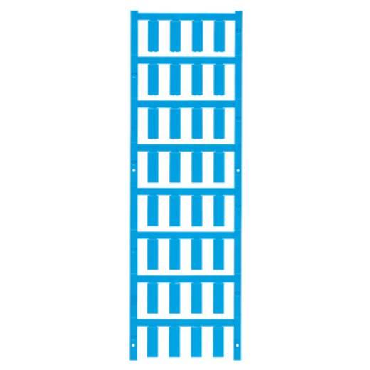 Leitermarkierer Montage-Art: aufclipsen Beschriftungsfläche: 21 x 7.4 mm Atoll-Blau Weidmüller VT SF 4.5/21 NEUTRAL BL