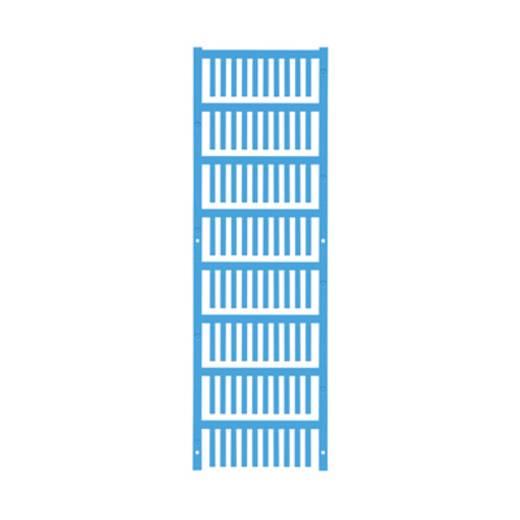 Leitermarkierer Montage-Art: aufclipsen Beschriftungsfläche: 21 x 3.2 mm Atoll-Blau Weidmüller VT SF 0/21 NEUTRAL BL V0