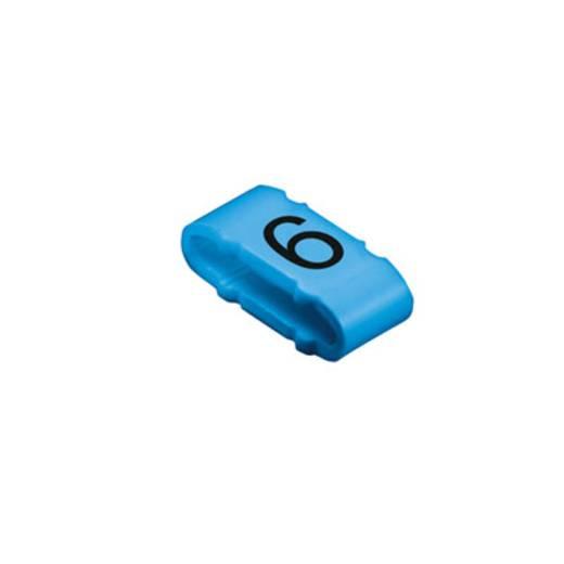 Kennzeichnungsring Aufdruck 6 Außendurchmesser-Bereich 10 bis 317 mm 1733651521 CLI M 2-4 BL/SW 6 MP Weidmüller