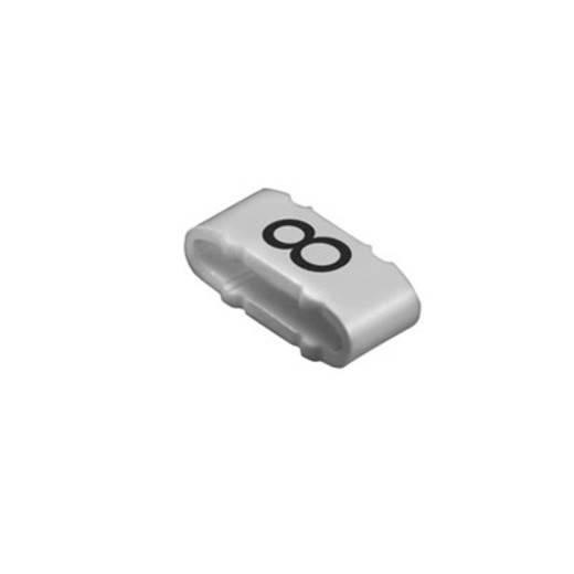 Kennzeichnungsring Aufdruck 8 Außendurchmesser-Bereich 10 bis 317 mm 1733651527 CLI M 2-4 GR/SW 8 MP Weidmüller