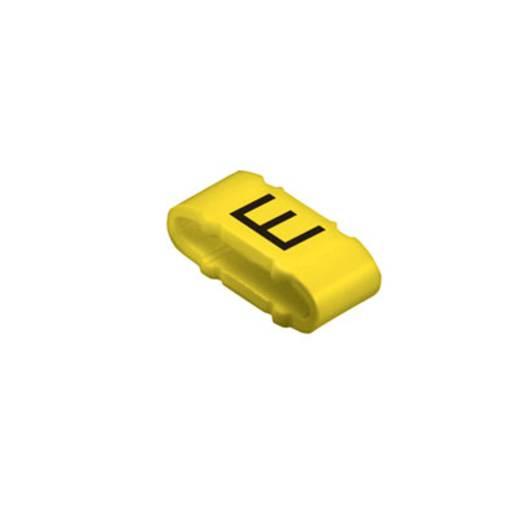 Kennzeichnungsring Aufdruck E Außendurchmesser-Bereich 10 bis 317 mm 1733651645 CLI M 2-4 GE/SW E MP Weidmüller