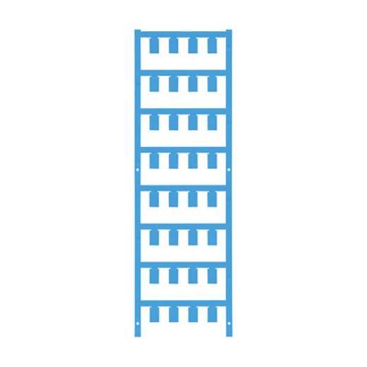Leitermarkierer Montage-Art: aufclipsen Beschriftungsfläche: 12 x 5.7 mm Atoll-Blau Weidmüller VT SF 4/12 NEUTRAL BL V0