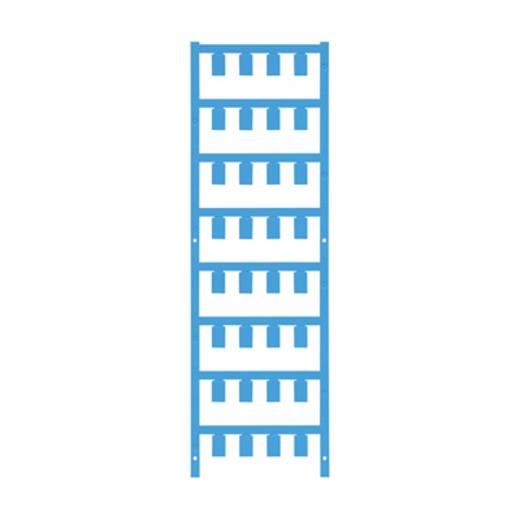 Leitermarkierer Montage-Art: aufclipsen Beschriftungsfläche: 12 x 7.4 mm Atoll-Blau Weidmüller VT SF 5/12 NEUTRAL BL V0