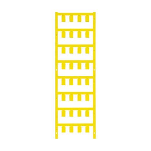Leitermarkierer Montage-Art: aufclipsen Beschriftungsfläche: 12 x 7.4 mm Gelb Weidmüller VT SF 5/12 NEUTRAAL GE V0 1746