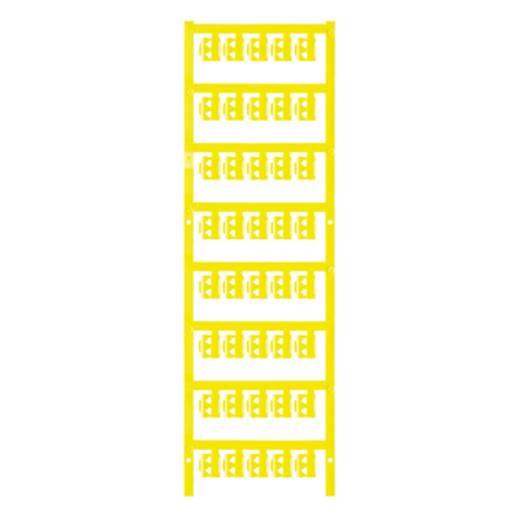 Zeichenträger Montageart: aufclipsen Beschriftungsfläche: 12 x 4.10 mm Passend für Serie Einzeldrähte Gelb Weidmüller SFC 1/12 NEUTRAL GE 1747320004 Anzahl Markierer: 200 200 St.