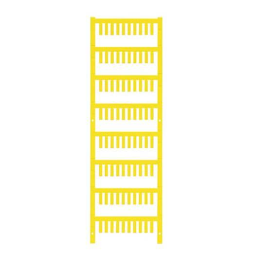 Leitermarkierer Montage-Art: aufclipsen Beschriftungsfläche: 12 x 3.2 mm Gelb Weidmüller VT SF 0/12 NEUTRAAL GE V0 1752