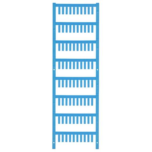 Leitermarkierer Montage-Art: aufclipsen Beschriftungsfläche: 12 x 3.2 mm Atoll-Blau Weidmüller VT SF 00/12 NEUTRAAL BL