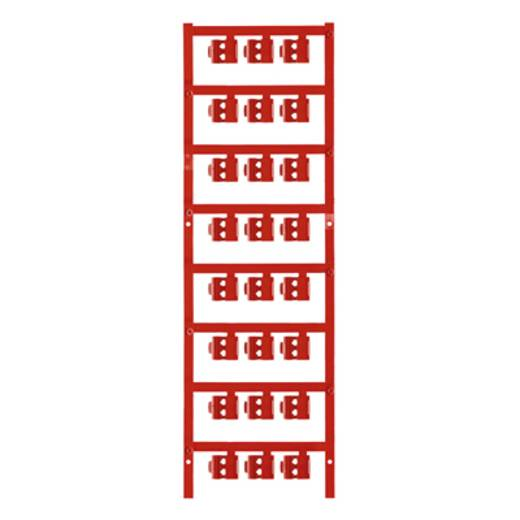 Zeichenträger Montage-Art: aufclipsen Beschriftungsfläche: 12 x 5.80 mm Passend für Serie Einzeldrähte Rot Weidmüller SF