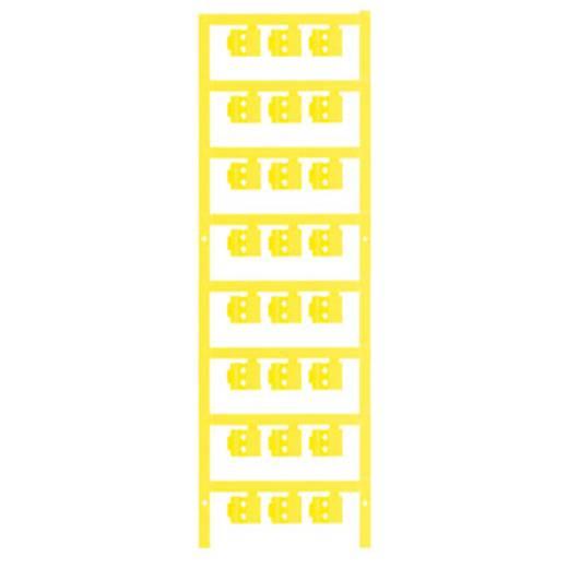 Zeichenträger Montage-Art: aufclipsen Beschriftungsfläche: 12 x 5.80 mm Passend für Serie Einzeldrähte Gelb Weidmüller S