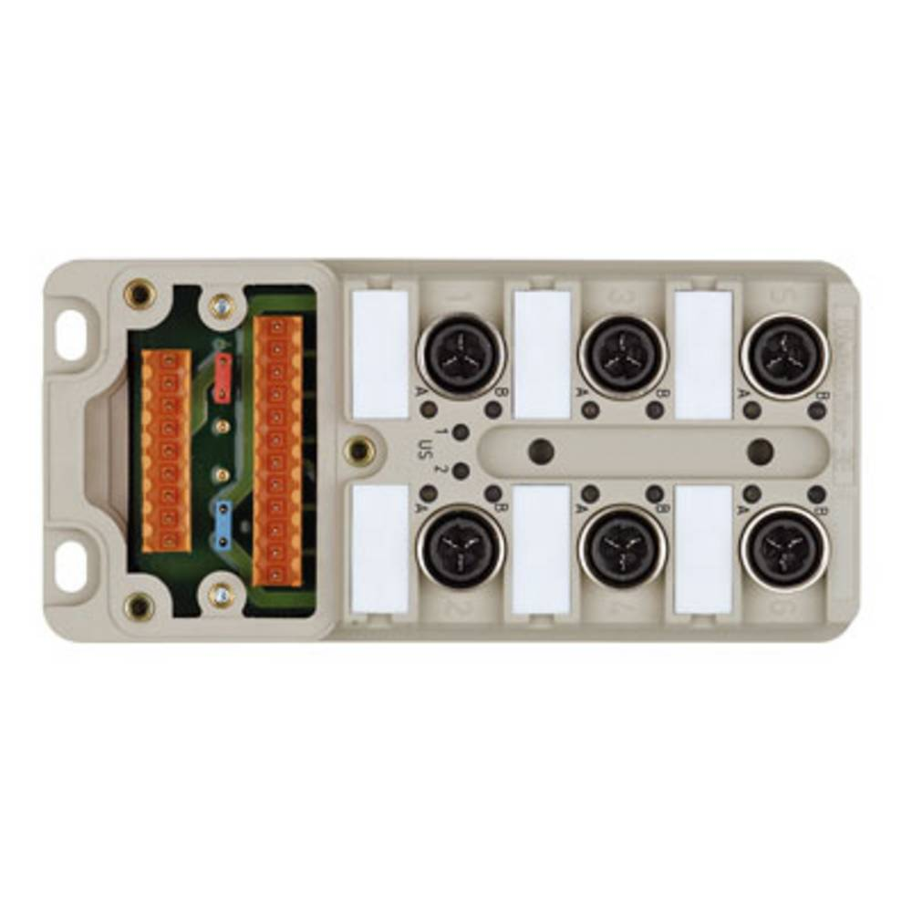 Répartiteur passif pour capteurs/actionneurs Weidmüller SAI-6-M 4P IDC UT 1766791000 Contenu: 2 pc(s)