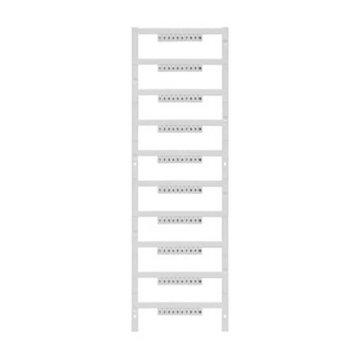 Gerätemarkierer Multicard DEK 5/3,5 MC FWZ 21-30 1858490000 Weiß Weidmüller 500 St.
