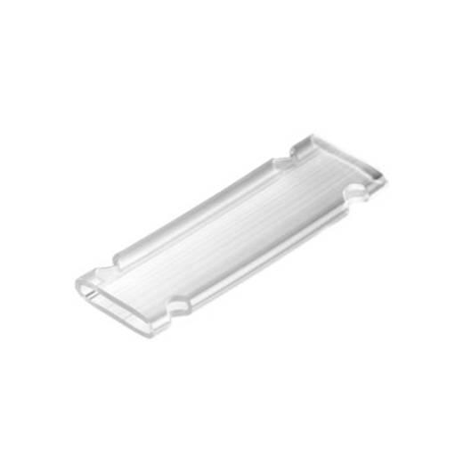 Zeichenträger Montageart: aufschieben Beschriftungsfläche: 33 x 11.30 mm Passend für Serie Einzeldrähte Transparent Weid