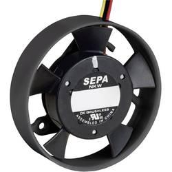 Axiálny ventilátor SEPA LF_40B12 5040B2001, 12 V/DC, (Ø x v) 40 mm x 10 mm