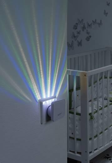 Nachtlicht Quadratisch LED RGB Sygonix Lucca 23620S sygonixweiß, matt