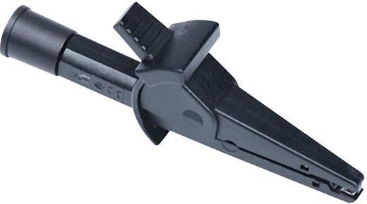 Metrel A 1114 Krokoklemme schwarz, Passend für (Details) MI 3101, MI 3105, MI 3102, MI 3100, MI 3002, MI 3122, MI 3121,