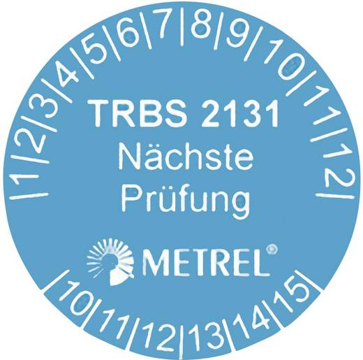 Metrel A 1315 Prüfplakette A 1315, Passend für (Details) AM 1311 20991711