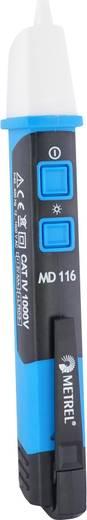 Metrel MD 116 Berührungsloser Spannungsprüfer CAT IV 1000 V LED, Vibration, Akustik Werksstandard (ohne Zertifikat)