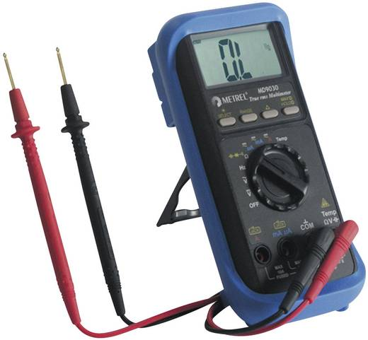 Hand-Multimeter digital Metrel MD 9030 Kalibriert nach: Werksstandard CAT II 1000 V, CAT III 600 V Anzeige (Counts): 4000