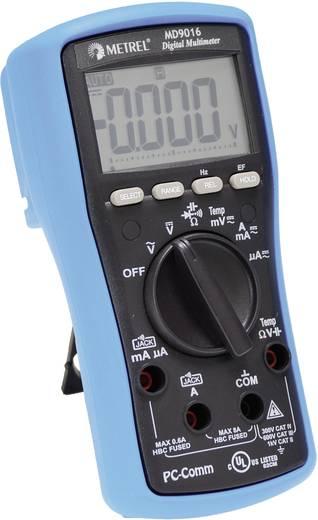 Hand-Multimeter digital Metrel MD 9016 Kalibriert nach: Werksstandard CAT II 1000 V, CAT III 600 V Anzeige (Counts): 6000