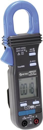 Stromzange, Hand-Multimeter digital Metrel MD 9225 Kalibriert nach: Werksstandard CAT III 600 V Anzeige (Counts): 4000