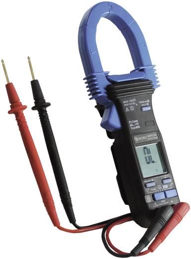 Stromzange, Hand-Multimeter digital Metrel MD 9240 Kalibriert nach: Werksstandard CAT III 600 V Anzeige (Counts): 6000