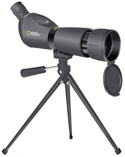Spektiv National Geographic Spotting Scope 20 bis 60 x 60 mm Schwarz