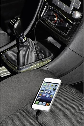 iPad/iPhone/iPod Ladegerät Hama Dualpicco 102095 KFZ Ausgangsstrom (max.) 2000 mA 2 x Apple Dock-Stecker Lightning, USB