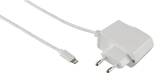 iPad/iPhone/iPod Ladegerät Steckdose Hama 102098 Ausgangsstrom (max.) 1000 mA 1 x Apple Dock-Stecker Lightning