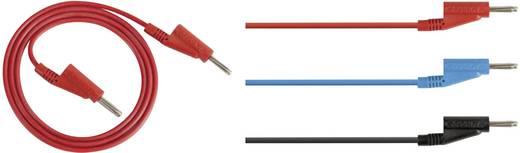 Messleitungs-Set [ Lamellenstecker 4 mm - Lamellenstecker 4 mm] 1 m Rot Rohde & Schwarz HZ10R
