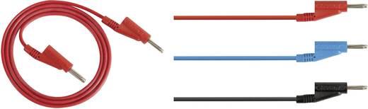 Messleitungs-Set [Lamellenstecker 4 mm - Lamellenstecker 4 mm] 1 m Schwarz Rohde & Schwarz HZ10S