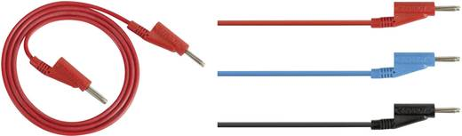 Rohde & Schwarz HZ10B Messleitungs-Set [Lamellenstecker 4 mm - Lamellenstecker 4 mm] 1 m Blau