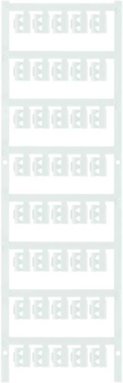 Porte-étiquette Weidmüller SFC 0/12 NEUTRAL WS 1813130000 Surface de marquage: 12 x 4.10 mm blanc 200 pc(s)