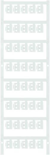 Zeichenträger Montage-Art: aufclipsen Beschriftungsfläche: 12 x 4.10 mm Passend für Serie Einzeldrähte Weiß Weidmüller S