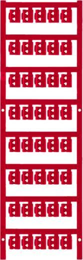 Zeichenträger Montage-Art: aufclipsen Beschriftungsfläche: 12 x 4.10 mm Passend für Serie Einzeldrähte Rot Weidmüller SF