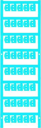 Zeichenträger Montage-Art: aufclipsen Beschriftungsfläche: 12 x 4.10 mm Passend für Serie Einzeldrähte Atoll-Blau Weidmü