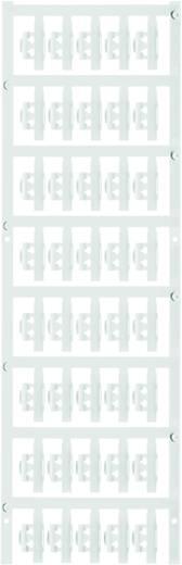 Zeichenträger Montage-Art: aufclipsen Beschriftungsfläche: 21 x 4.10 mm Passend für Serie Einzeldrähte Weiß Weidmüller S