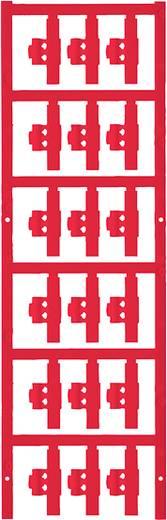 Zeichenträger Montage-Art: aufclipsen Beschriftungsfläche: 30 x 4.10 mm Passend für Serie Einzeldrähte Rot Weidmüller SF