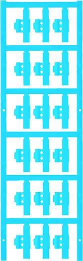 Zeichenträger Montage-Art: aufclipsen Beschriftungsfläche: 30 x 4.10 mm Passend für Serie Einzeldrähte Atoll-Blau Weidmü