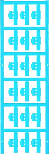 Zeichenträger Montageart: aufclipsen Beschriftungsfläche: 30 x 4.10 mm Passend für Serie Einzeldrähte Atoll-Blau Weidmüller SFC 0/30 NEUTRAL BL 1813270000 Anzahl Markierer: 150 150 St.