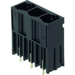 Konektor do DPS Weidmüller SU 10.16HP/05/180G 3.5AG BK BX 1813440000, 50.80 mm, pólů 5, rozteč 10.16 mm, 20 ks