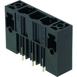 Konektor do DPS Weidmüller SU 10.16HP/03/180F 3.5AG BK BX 1813660000, 50.80 mm, pólů 3, rozteč 10.16 mm, 50 ks