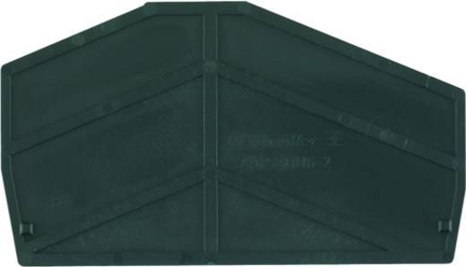Abschlussplatte ZAP ZDU6-2 SW 1814710000 Weidmüller 50 St.