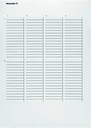 Beschriftungssystem Drucker Beschriftungsfläche: 251 x 11.50 mm Passend für Serie Baugruppen und Schaltanlagen, Univers