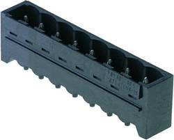 Boîtier mâle (platine) série BL/SL 5.08 Weidmüller SL-SMT 5.08/10/180G 3.2SN BK BX 1838290000 Nbr total de pôles 10 Pas: