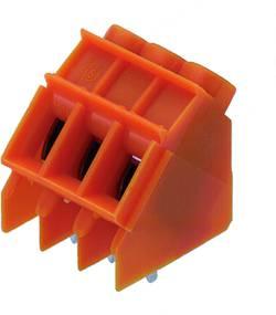 Bornier à vis Weidmüller LP 5.08/09/135 3.2 OR 1843170000 4.00 mm² Nombre total de pôles 9 orange 50 pc(s)