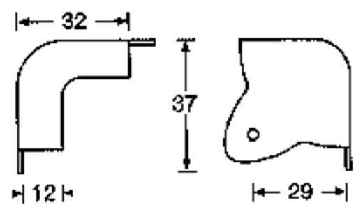 Lautsprecher-Ecke Stahl 4023 1 St.